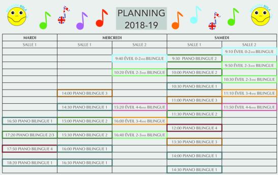 Planning Méthode Sola2018-2019